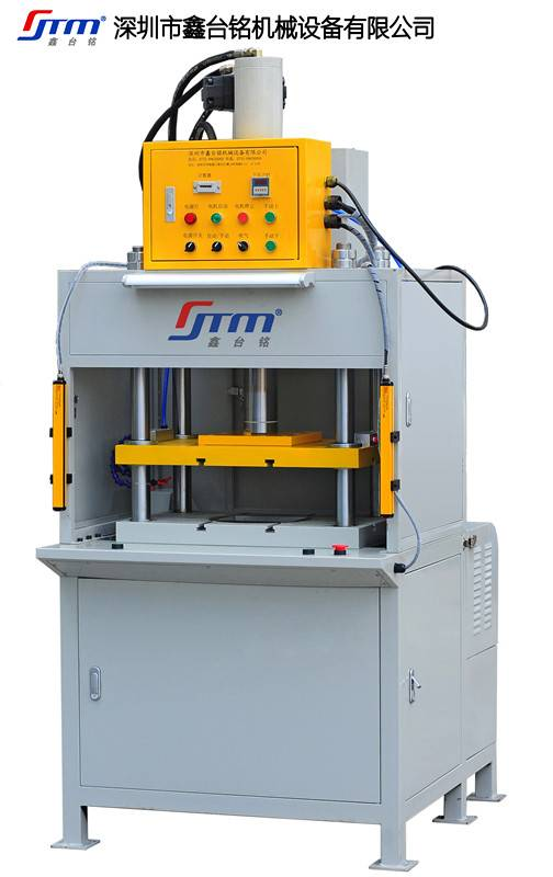 Full Automatic Hydraulic Metal Casting Products Trimming Machine With Robot Arm