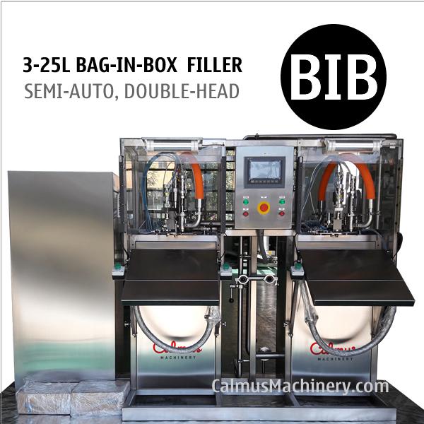 Bag Water Filler BIB Filling Equipment Bag in Box Filling Machine