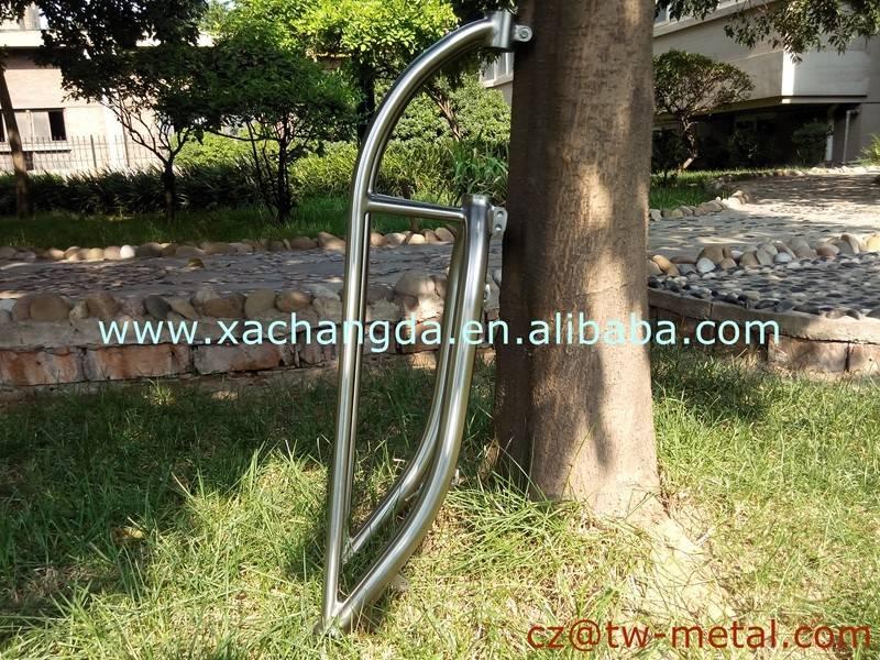 Titanium truss fork titanium fat & cruiser bicycle front fork Customized bike part