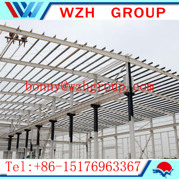 Q235 Q345 Steel structure building , warehouse , workshop , shopping mall