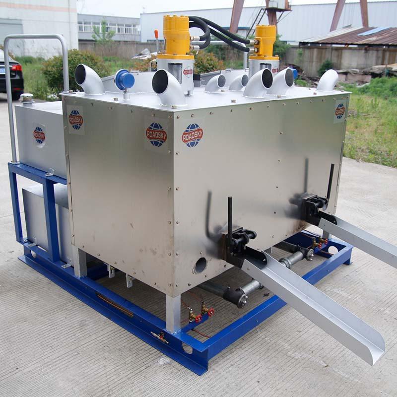 Dual-Fuel Road Marking Preheater