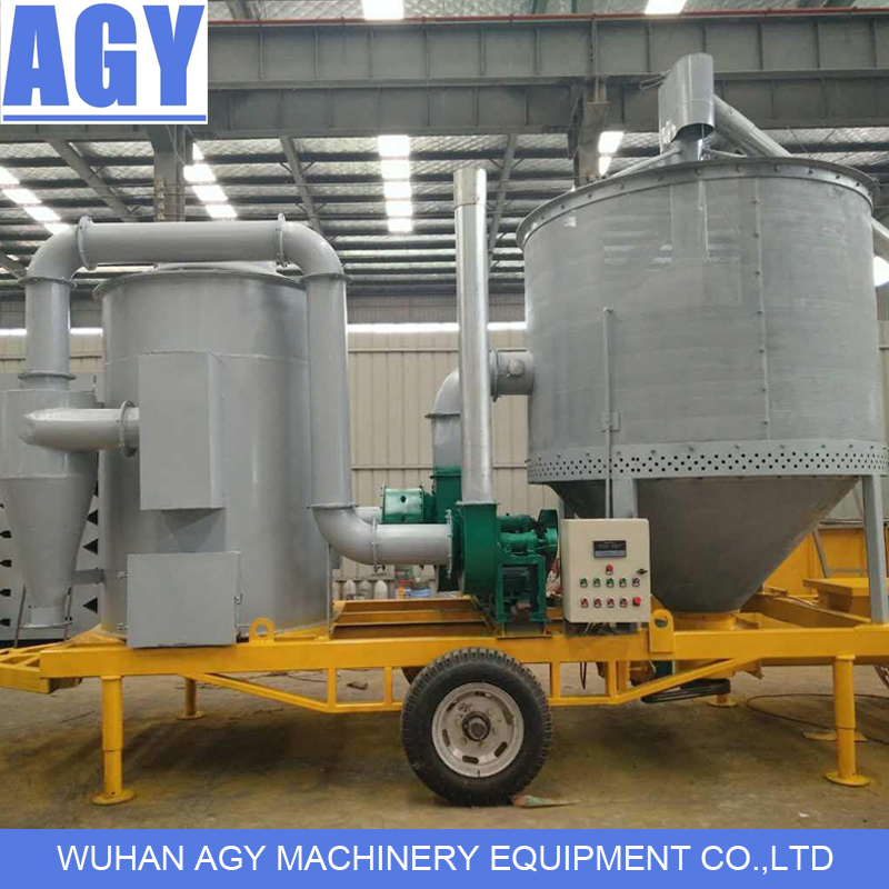 4 ton capacity portable mobile grain dryer