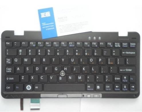 NEW original Laptop Keyboard 148742322 VGN-P Black US layout