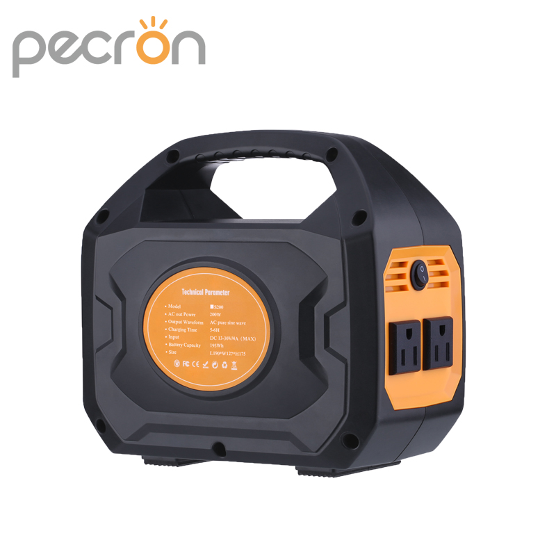 200W Lithium ion Battery Power Station Home Power Kit Portable Energy Storage With QC3.0