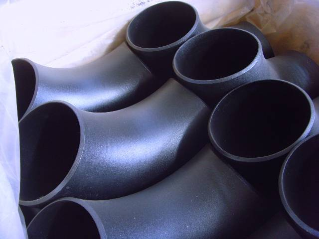 supply  carbon steel elbow pipe fitting A234 WPB