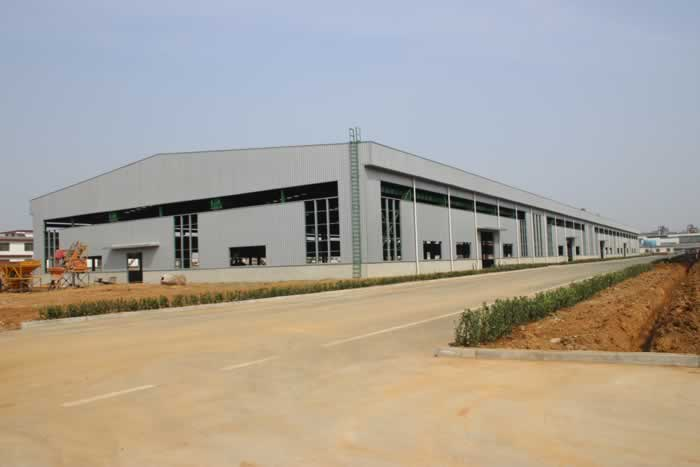 steel structure warehouse-processed By nanyang xinxing steel