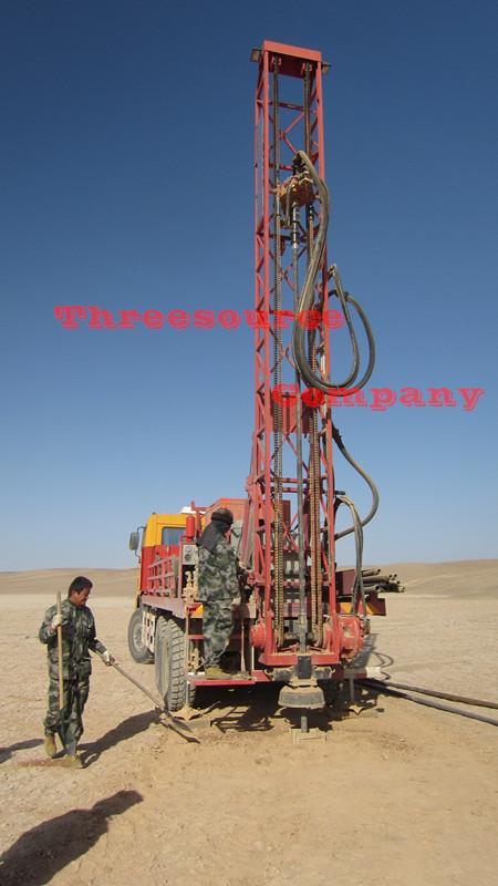 blasting oil prospecting truck type