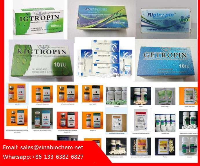 Jintropin HGH Kig, Taiptropin, Muscle Growth Peptide blue/greep cap, MT-2(Melanotan)