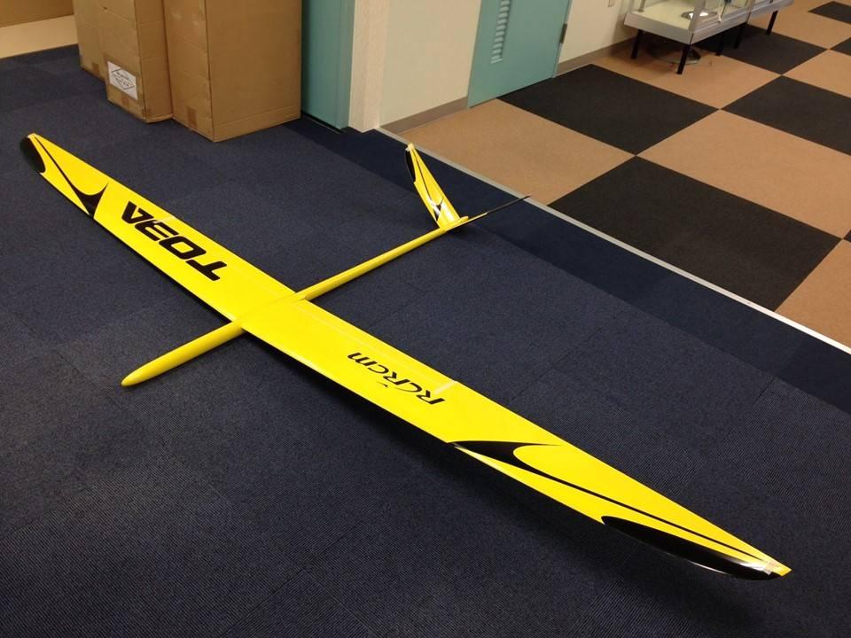 Toba-3m non motor F3B sailplane