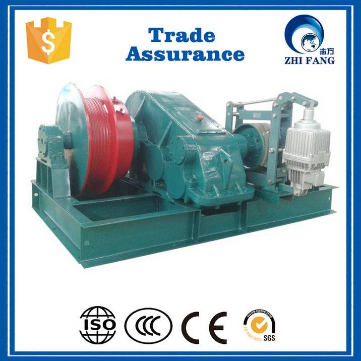 hydraulic small electric winch, cable pulling machine electric winch for sale