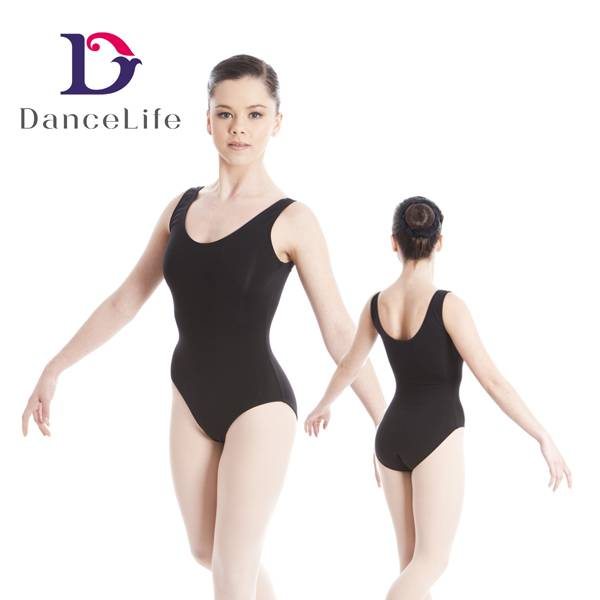 basic lady ballet leotard dance wear
