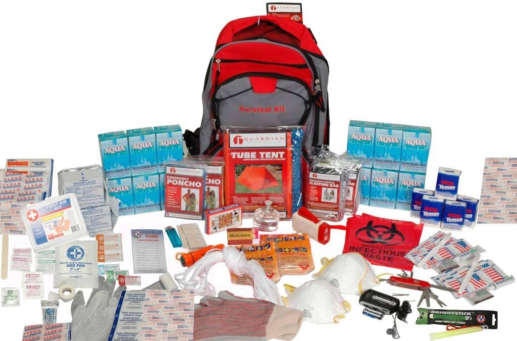 Emergency Survival Kit - Deluxe Disaster Preparedness Kit