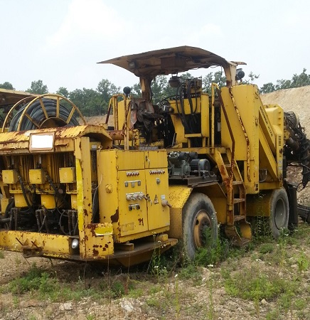 Used hydraulic crawler drill ATLAS COPCO BOOMER H-178