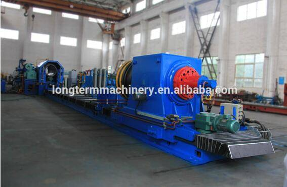 High efficiency cylinder hot spinning closing machine