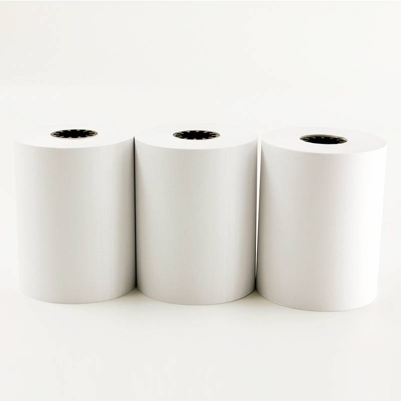 57x40x12mm plastic coer paper roll of thermal paper