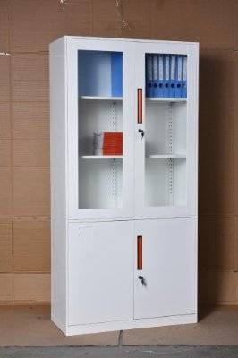 supply  high  quality  filing  cabinet  with  glass  door  ,office  furniture