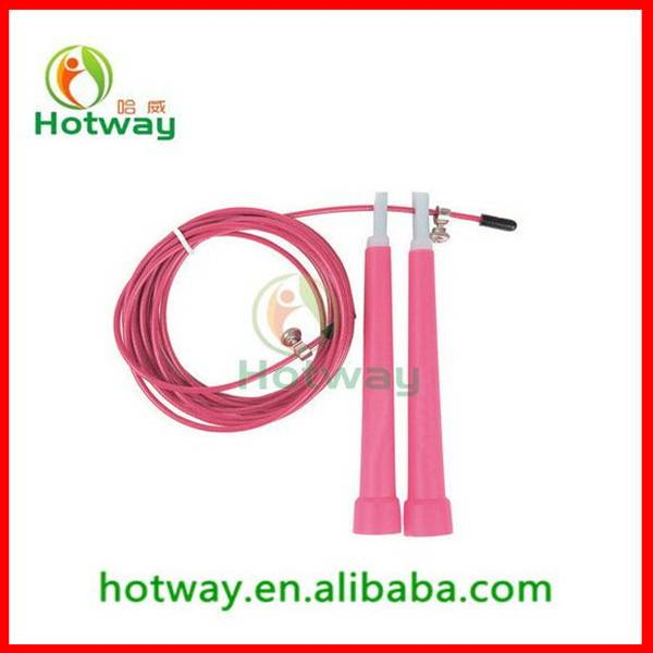 Crossfit Steel Wire Cable Bearing Skipping Speed Jump Rope