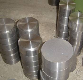 Forged disc used for tube sheet and other pressure vessel