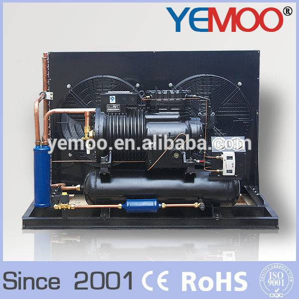 Hangzhou Yemoo copeland 8hp R22 R404a R507c gas air cooled condensing unit prices