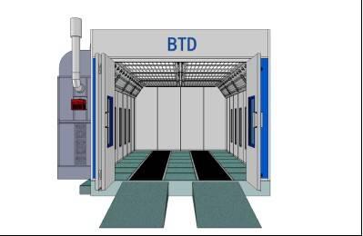 spray booth BTD7400-1