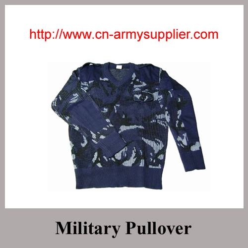 Camouflage Army Military Pullover Sweater Jersey Jumper