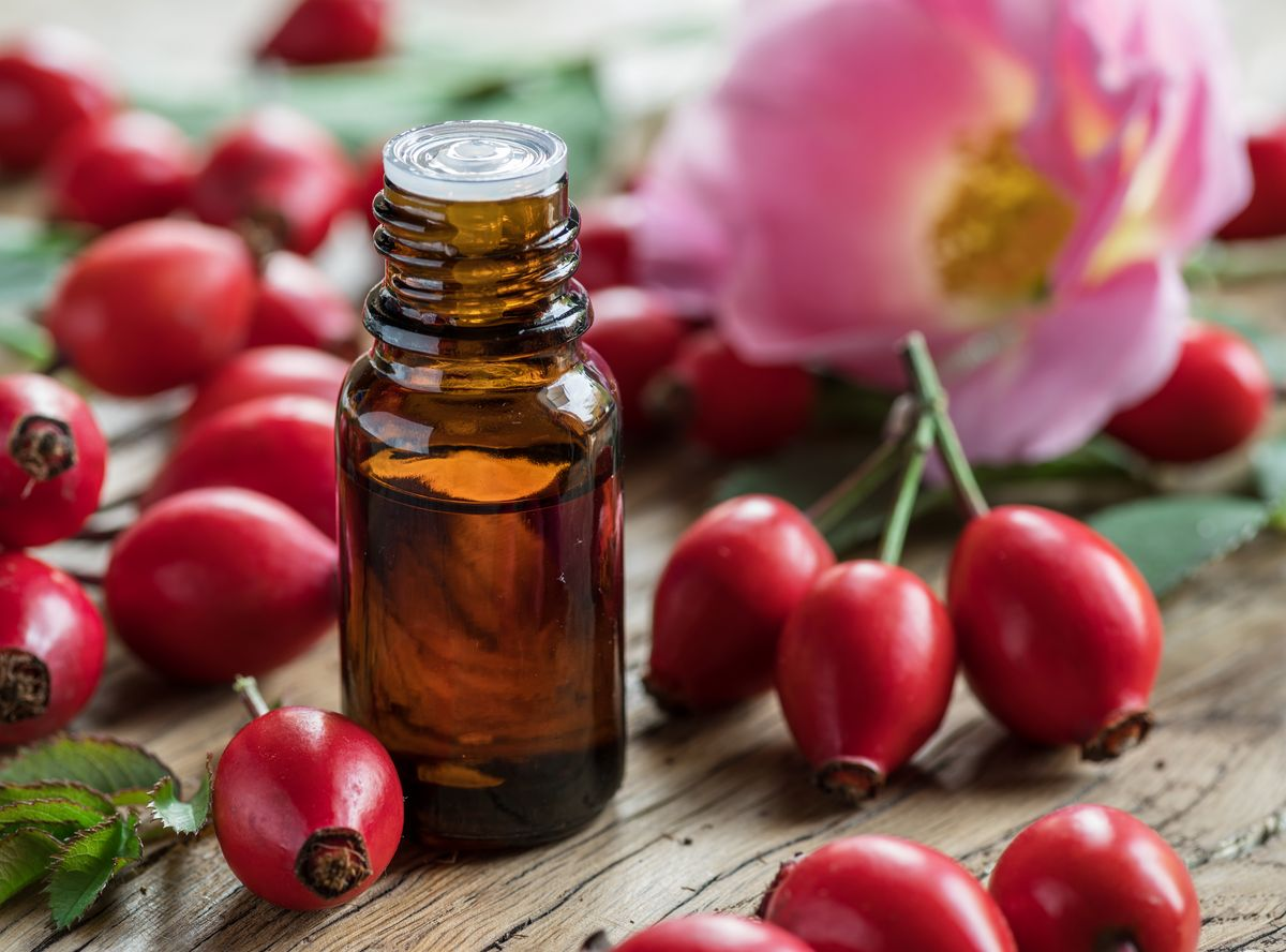 High Quality Cold Pressed Organic Rose Hip Seed Oil