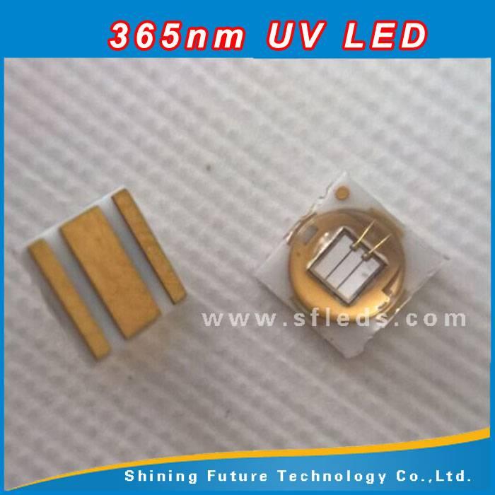 Surface mount 365nm 3535 3w uv led