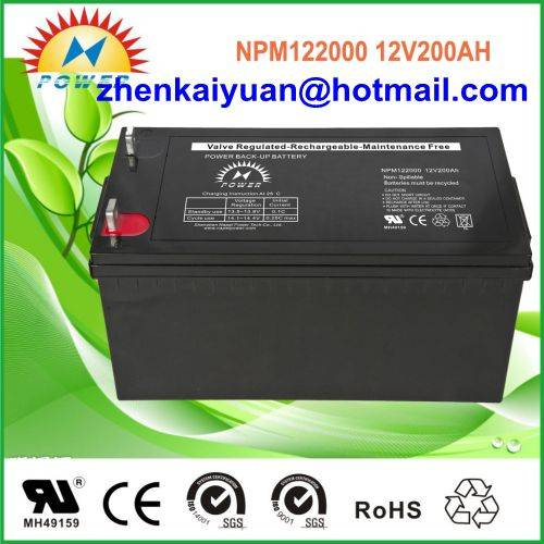 lead acid /sealed /ups/solar/ battery12V200Ah