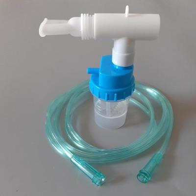 Nebulizer mask with Tee Mouthpiece