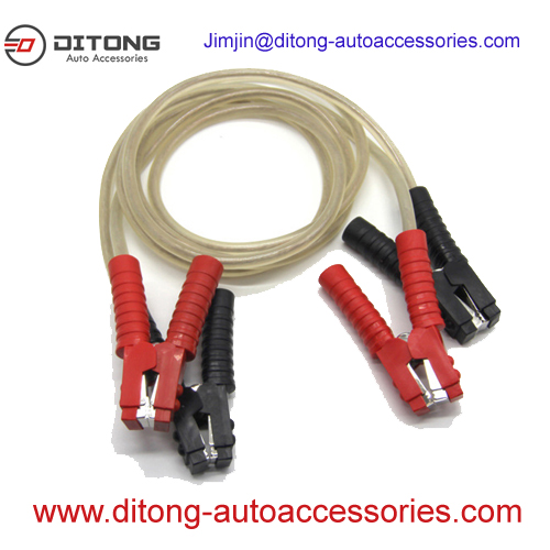 300Amp 14MM2 transparent jump leads booster cable for car battery