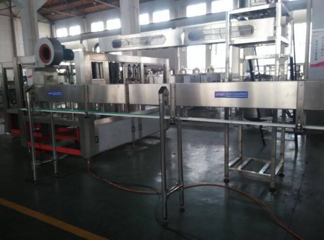 Plastic bottle feeding air conveyor