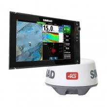 Simrad NSS12 evo2 Combo MFD with 4G Radar Bundle