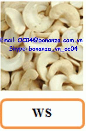 Cashew Nut White Splits - WS