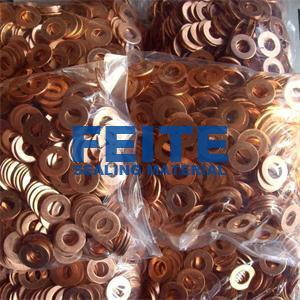 Solid Copper Washers and Gaskets