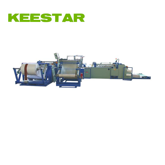 Keestar auto pp woven sack making line with auto liner inserting 38WBSS-IB