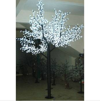 Artificial Trees Lighted