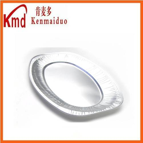 POF352 oval aluminum foil barbecue tray