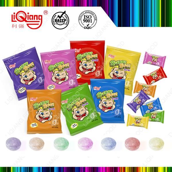 200g bag packing blackcunt super sour candy