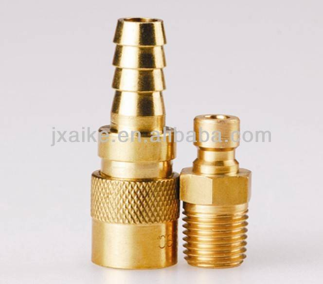 Brass mould quick coupling