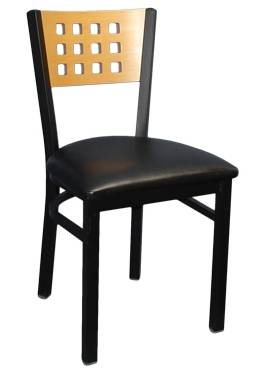 The metal chair restaurant chair dinning room chair