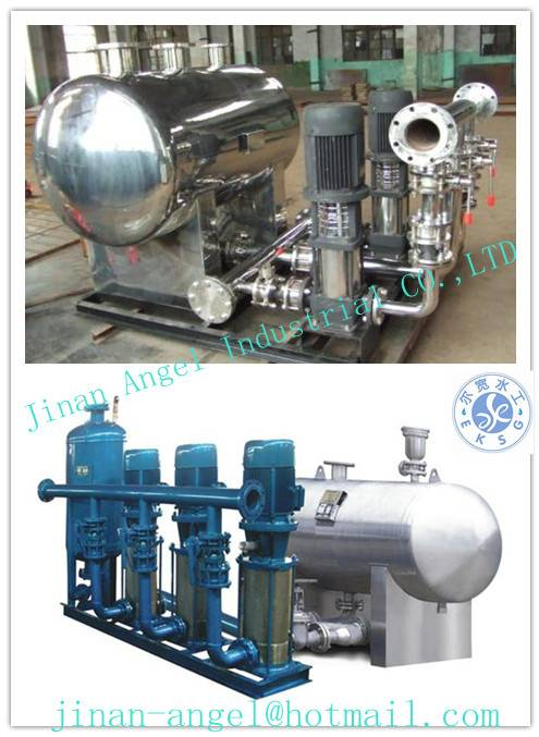 stainless steel non-negative pressure water supply equipment