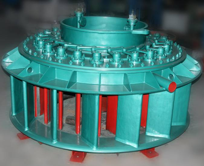 High Efficiency Water Turbine/ Kaplan Turbine for Hydroelectric Power Plant