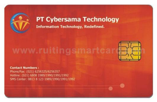 contact chip card