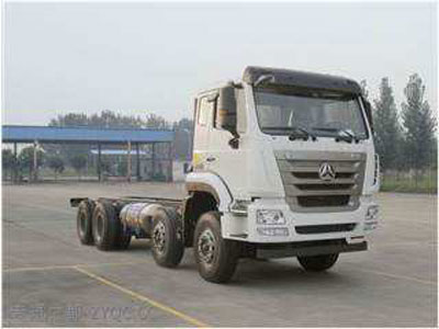 SINOTRUK HOHAN 8x4 CARGO TRUCK CHASSIS LHD