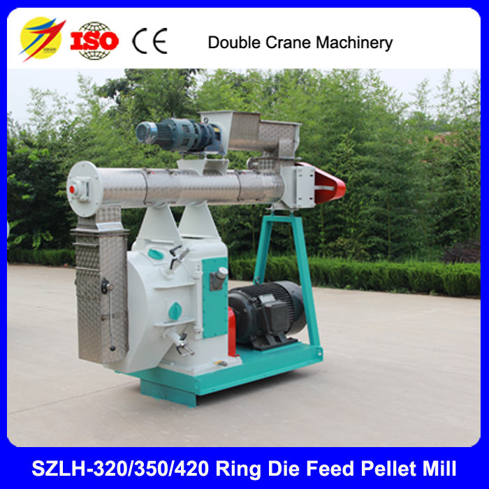 Best price SH-350 ring die pellet machine for Cattle sheep feed