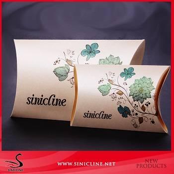 sinicline custom design pillow box for wedding gift