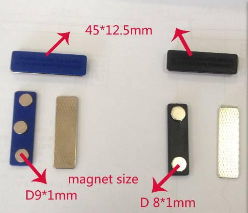 customize neodymium Magnetic badge