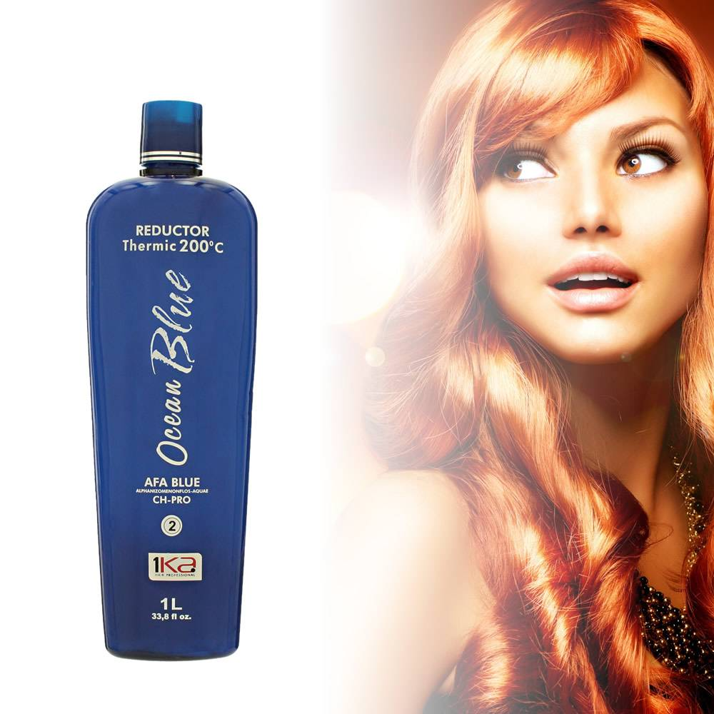1 Ka Ocean Blue Hair Straightener Treatment