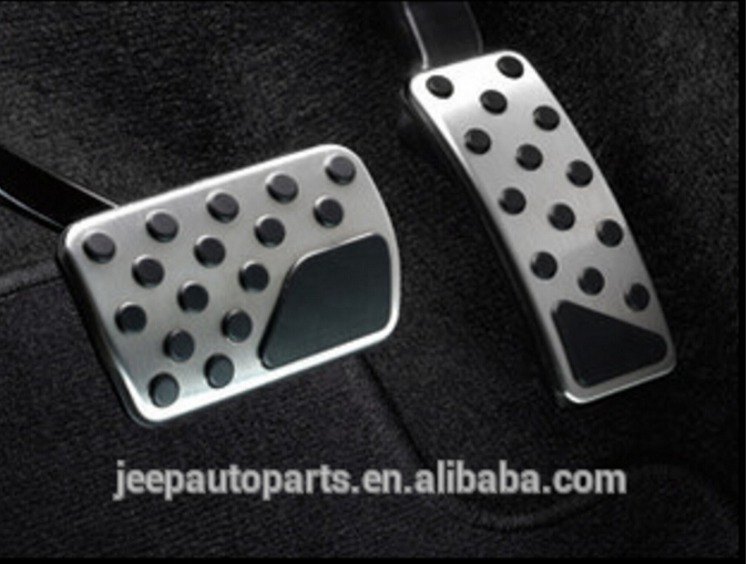 Automible spare parts-auto parts-Stainless steel Accelerator Pedal for J e e p Grander Cherokee