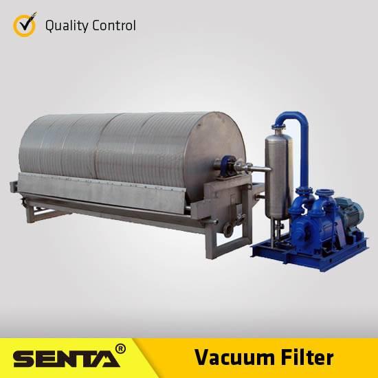 Solid Liquid Separation Equipment mineral processing Beneficiation Machine Rotary Vacuum Fliter